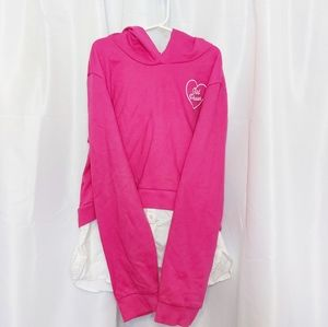 George Girl's Hooded Shirt Size XL